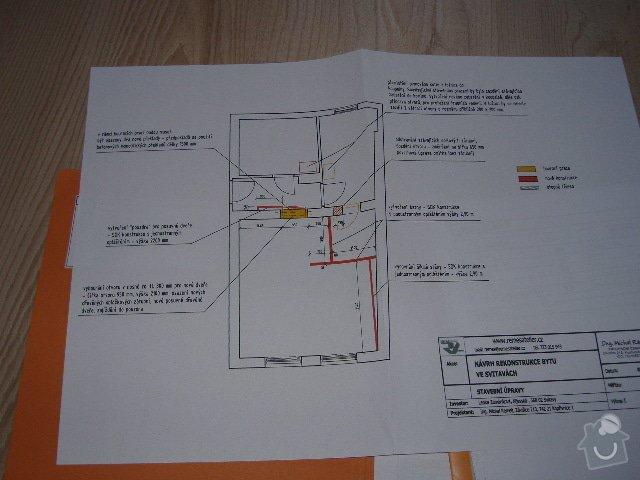 Bourací práce - výřez na nové dveře + postavení šatny a přemístění plynového kotle: kijevska_001