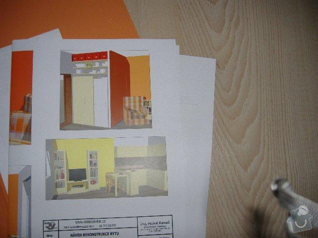 Bourací práce - výřez na nové dveře + postavení šatny a přemístění plynového kotle: kijevska_015