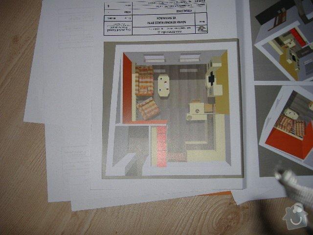 Bourací práce - výřez na nové dveře + postavení šatny a přemístění plynového kotle: kijevska_017