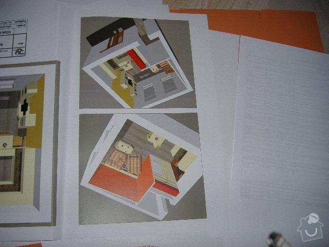 Bourací práce - výřez na nové dveře + postavení šatny a přemístění plynového kotle: kijevska_018