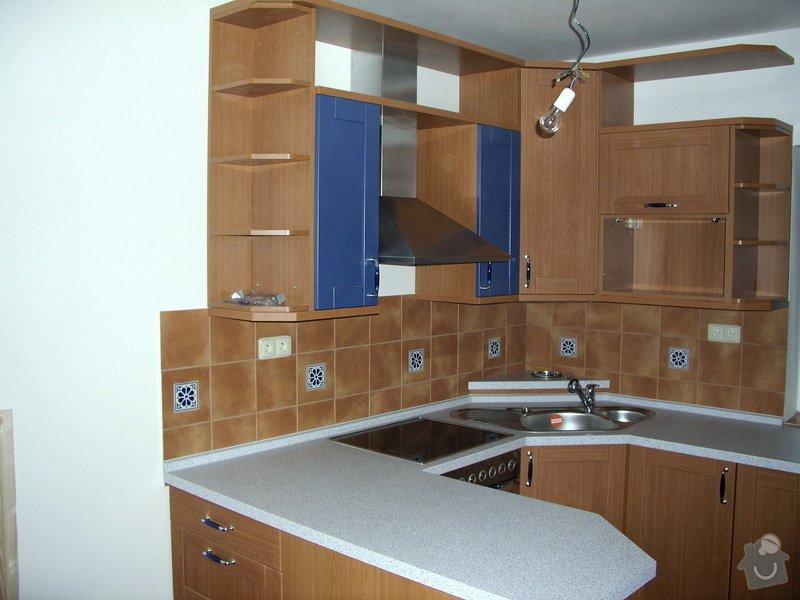 Výstavba RD Troja Praha 8: kuchyne