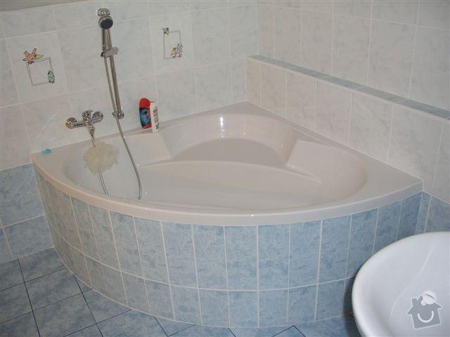 Výstavba RD Troja Praha 8: koupelna_patro