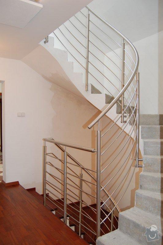 Nerezové zábradlí točitého schodiště: 03