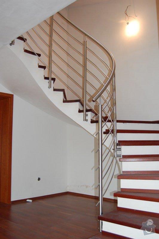 Nerezové zábradlí točitého schodiště: 05