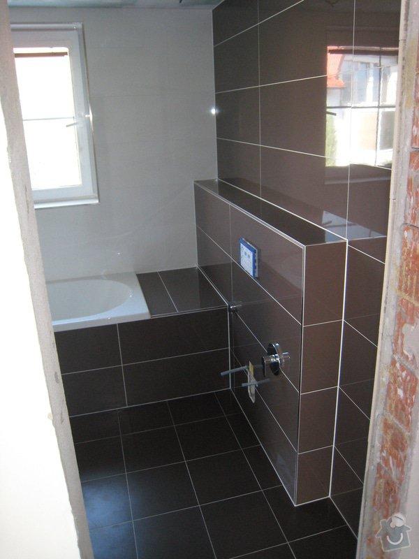 Rekonstrukce koupelny v RD: IMG_2402