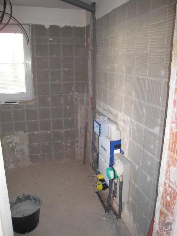 Rekonstrukce koupelny v RD: IMG_2262