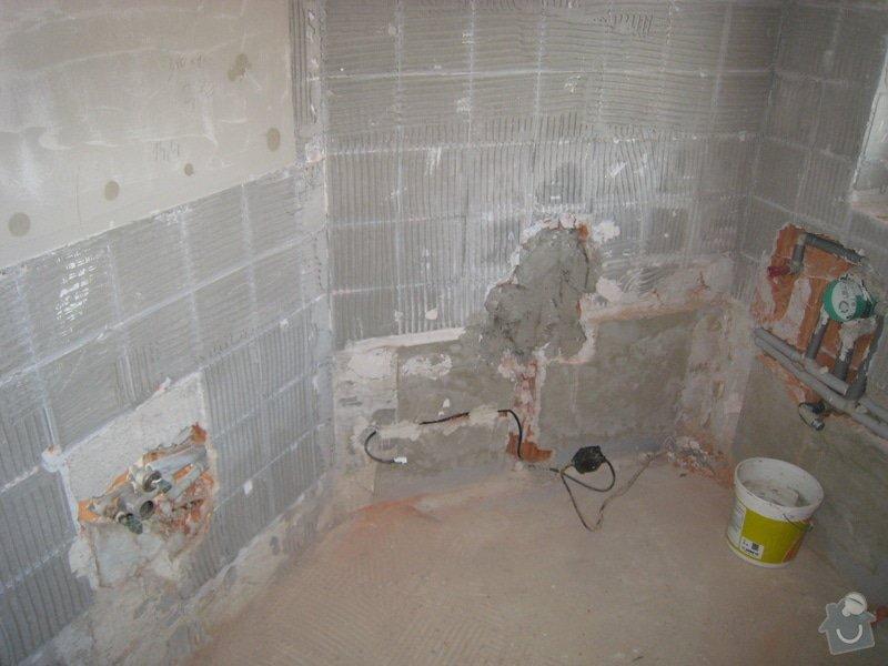 Rekonstrukce koupelny v RD: IMG_2263