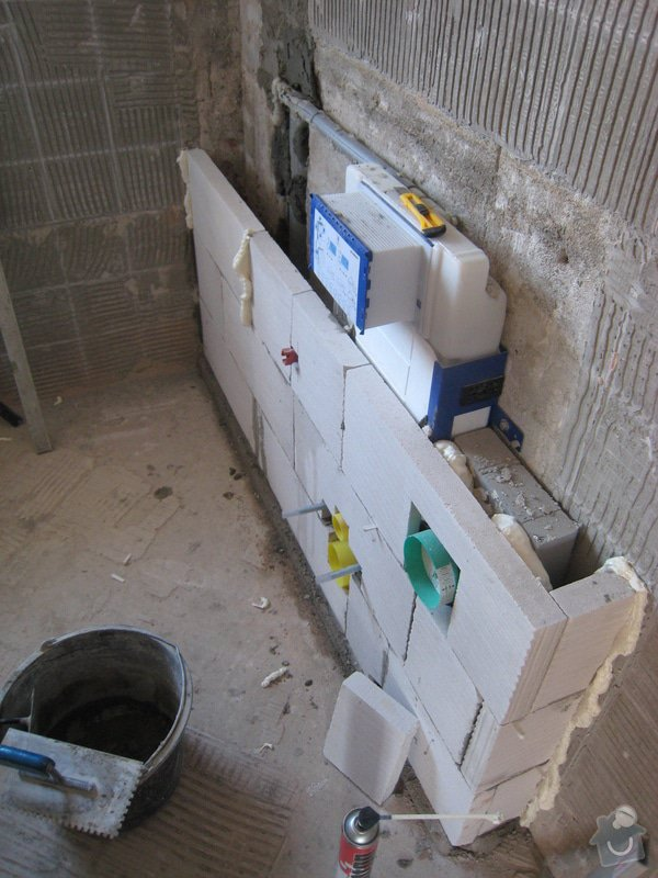 Rekonstrukce koupelny v RD: IMG_2270