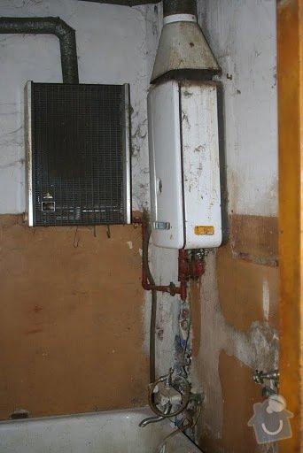 Plyn a topení - rozvod plynového potrubí, zapojení a instalace kotle + rozvod topenářského potrubí a instalace radiátorů: kotel_I