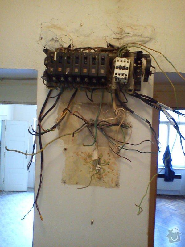 Výměna staré elektroinstalace: DSC00274