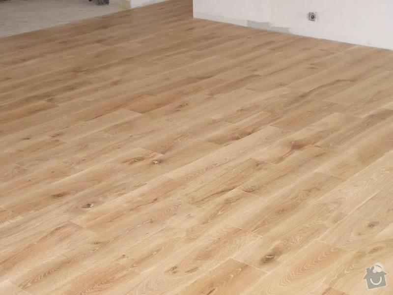 Pokládka dřevěných podlah - BD Vránova: vranova5