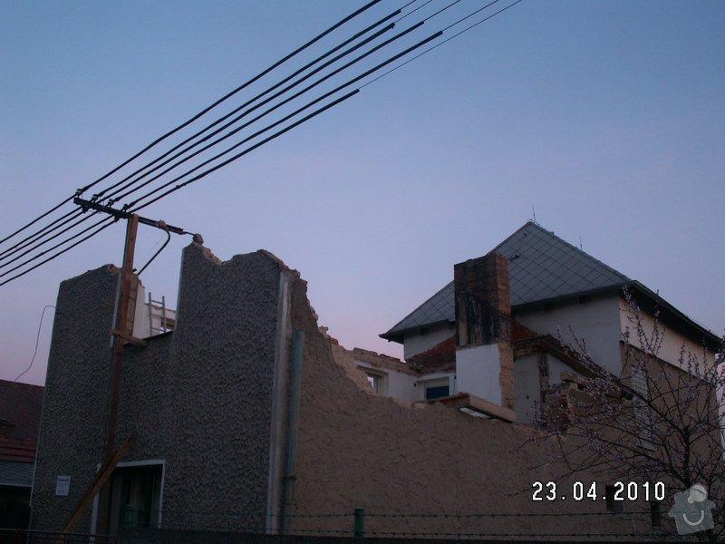 Rekonstrukce části domu: PICT4545