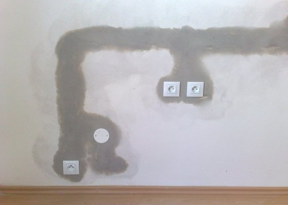 Predelani elektriky v kuchynskem koute