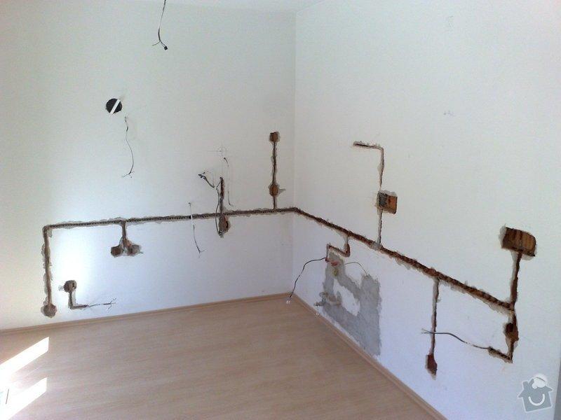 Predelani elektriky v kuchynskem koute: 002