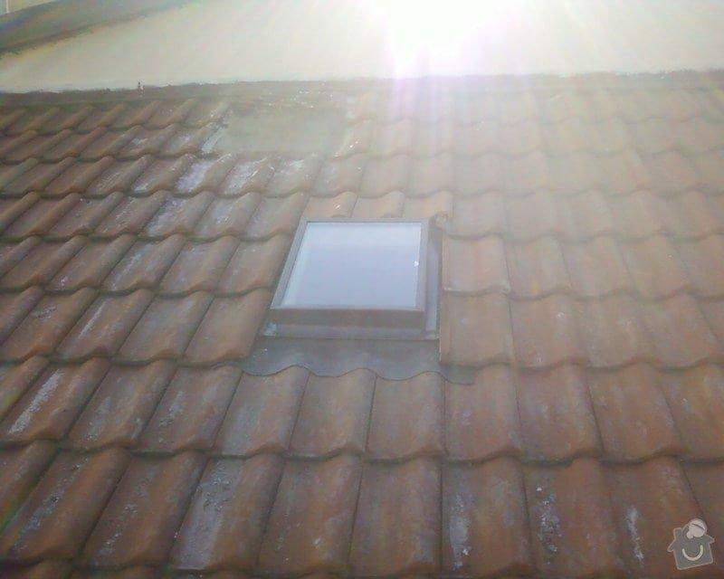 Výměna vikýřů ve staré střeše: Fotografie-0183