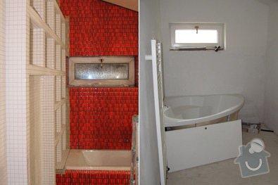 Kompletní rekonstrukce koupelny a wc: 01
