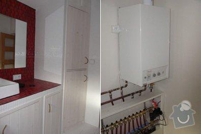 Kompletní rekonstrukce koupelny a wc: 02