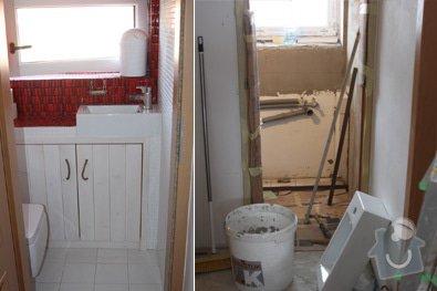 Kompletní rekonstrukce koupelny a wc: 04