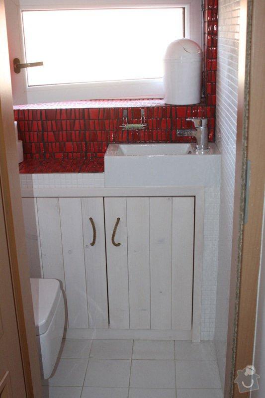 Kompletní rekonstrukce koupelny a wc: 06