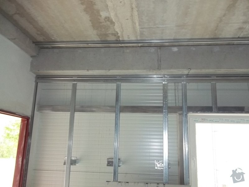 Předstěny SDK a minerální podhled v kanceláři: 104_0122