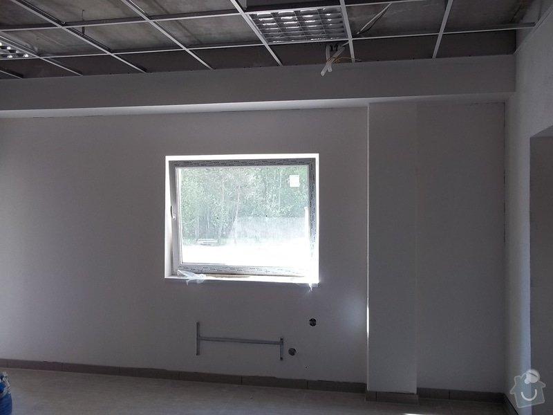 Předstěny SDK a minerální podhled v kanceláři: 104_0155
