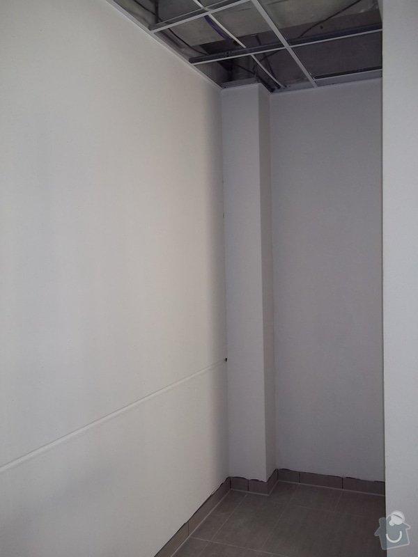 Předstěny SDK a minerální podhled v kanceláři: 104_0158