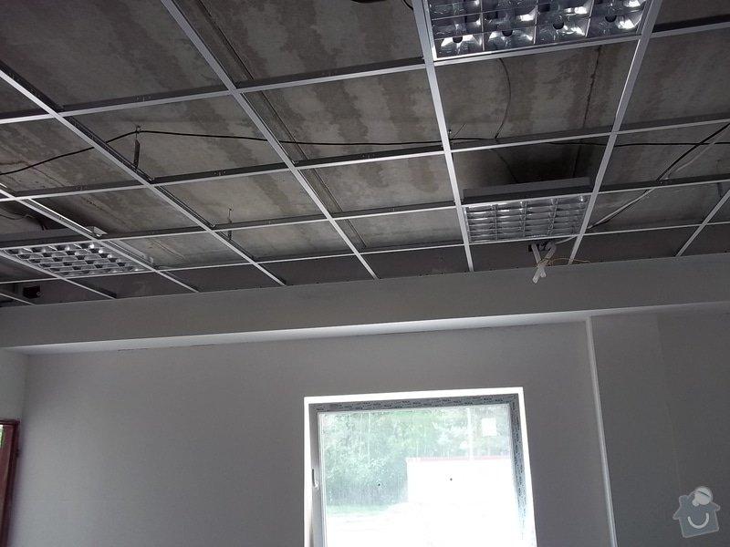 Předstěny SDK a minerální podhled v kanceláři: 104_0159