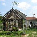 Zahradni domek konstrukce