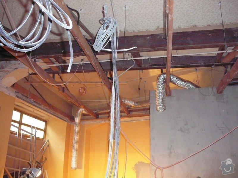 Montáž podhledu a opravy: P1060506