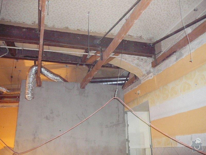 Montáž podhledu a opravy: P1060507