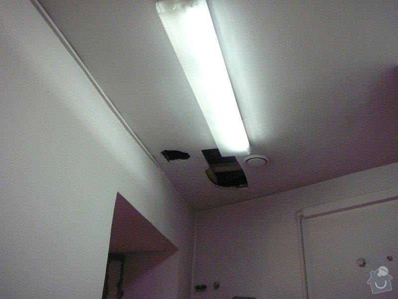 Montáž podhledu a opravy: P1060509