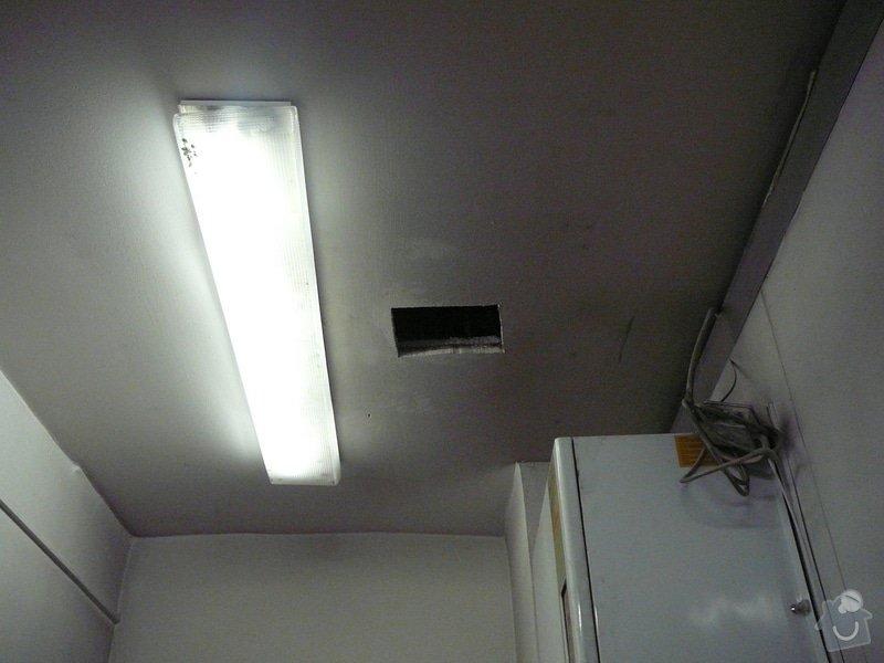 Montáž podhledu a opravy: P1060512