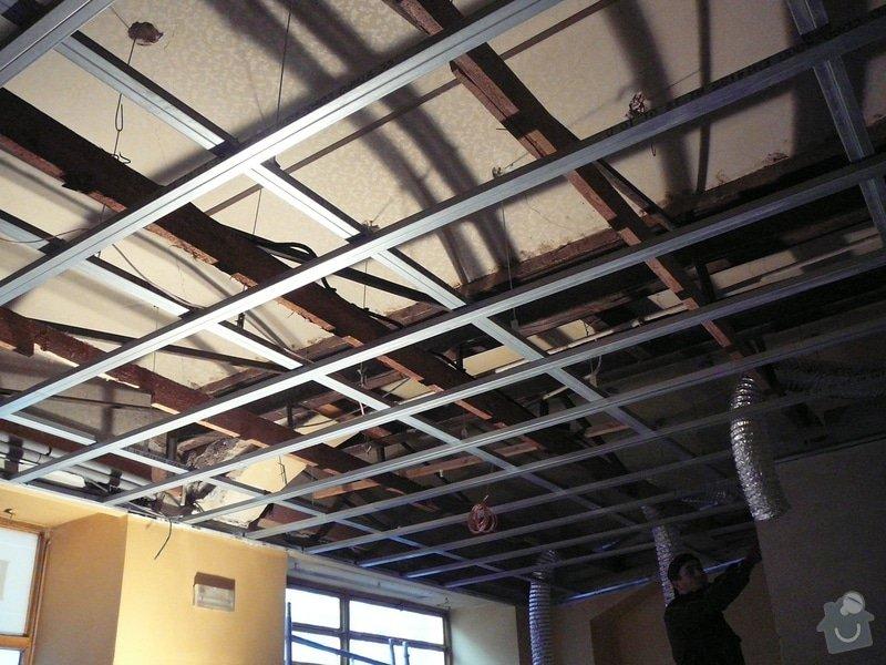 Montáž podhledu a opravy: P1060515