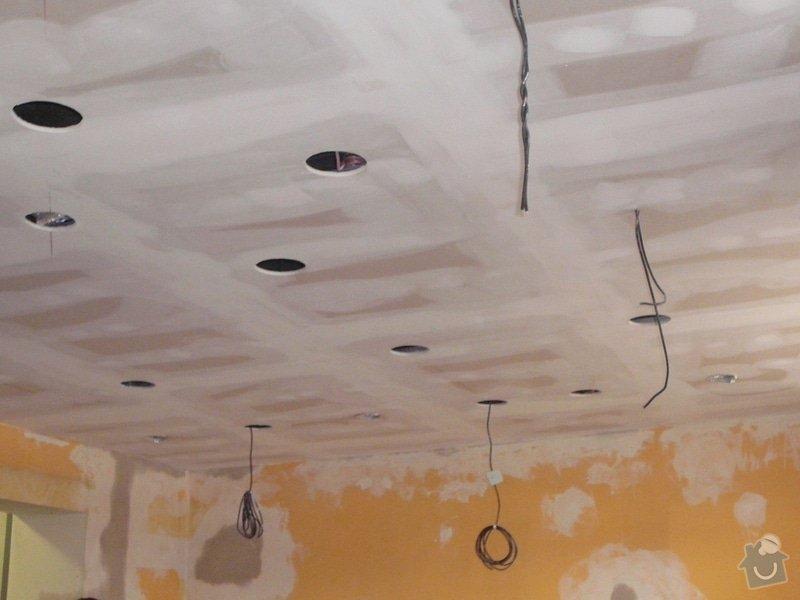 Montáž podhledu a opravy: P1060521