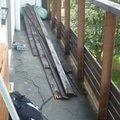 Vymena dreveneho zabradli na balkone balkon po 3