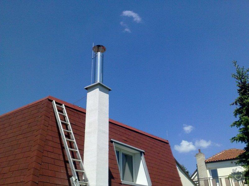 Hromosvod na komín vedle rodinného domu: 30052011164