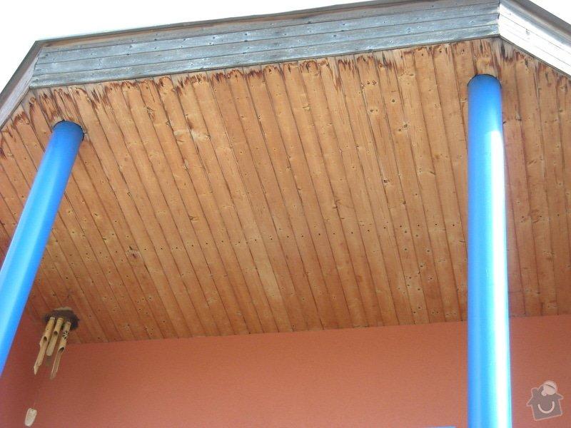Stavebně - tesařské práce, rekonstrukce dřevěných podhledů: DSCN0234