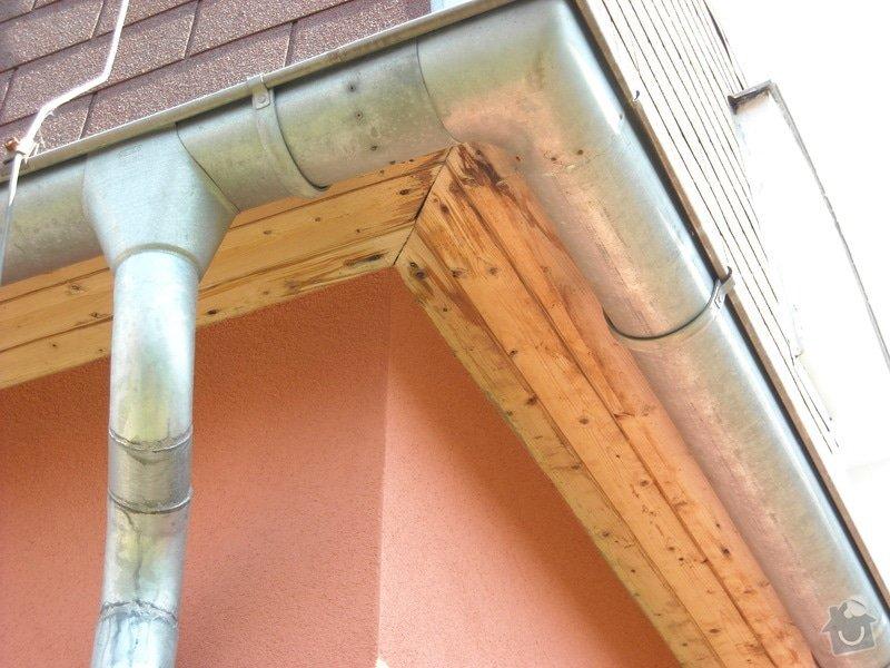 Stavebně - tesařské práce, rekonstrukce dřevěných podhledů: DSCN0235
