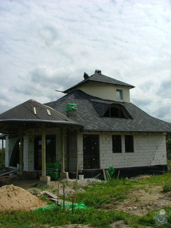 Pokládka šindele, oplechování komínu: oprava-klempirskych-praci-dokonceni-strechy_DSCF7084