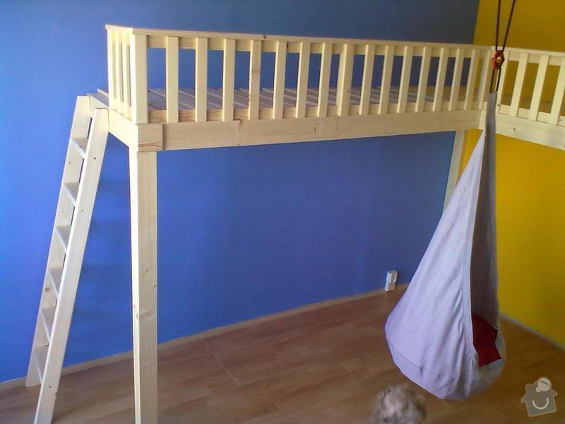 Výroba a montáž patra na spaní: Foto411