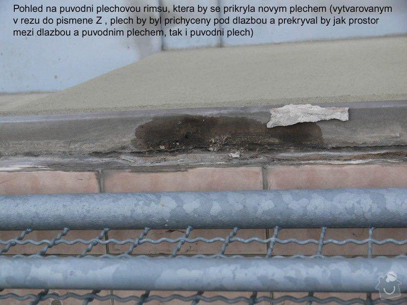Pokládka mrazuvzorné dlažby na balkoně: rimsa