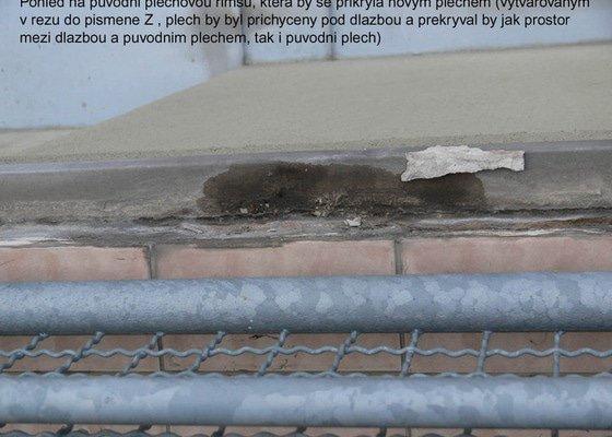 Pokládka mrazuvzorné dlažby na balkóně