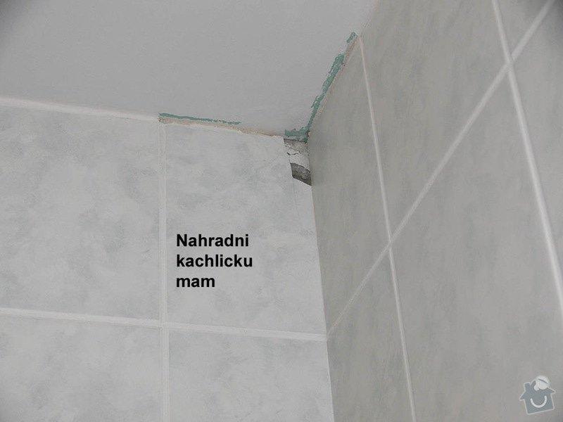 Pokládka mrazuvzorné dlažby na balkóně: koupelna_vymenit_rozbitou_kachlicku