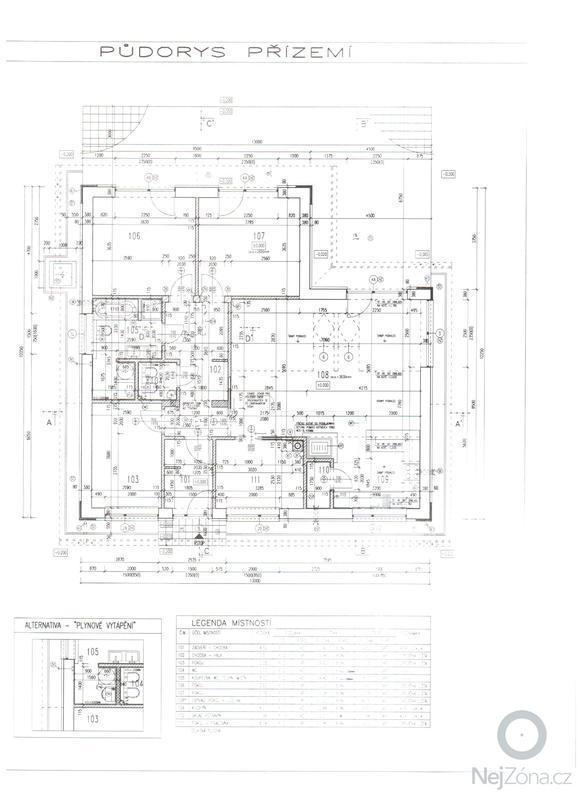 Zhotovení základové desky: prizemi