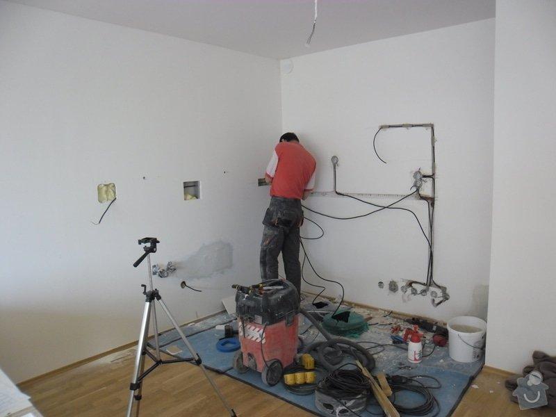 Příprava elektroinstalace pro kuchyňskou linku: SAM_4769