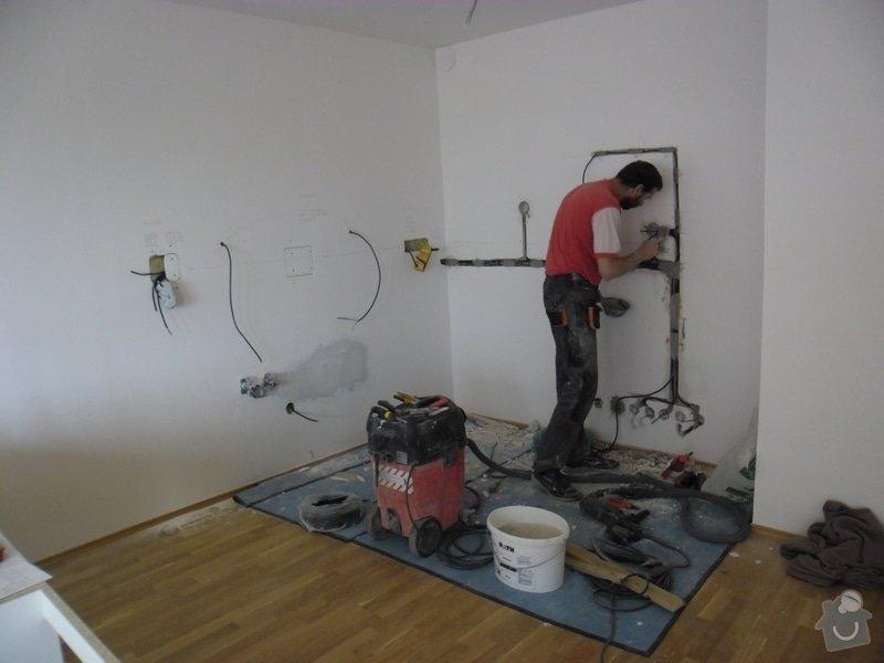 Příprava elektroinstalace pro kuchyňskou linku: SAM_4770