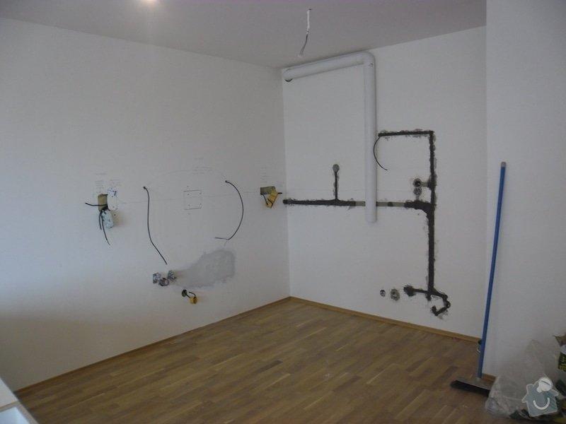 Příprava elektroinstalace pro kuchyňskou linku: SAM_4773