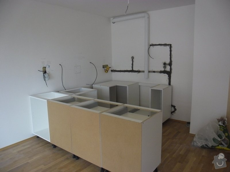 Příprava elektroinstalace pro kuchyňskou linku: SAM_4774