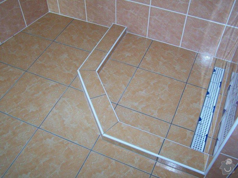Obklady a dlažby - novostavba RD, Cerekvice: 100_1686