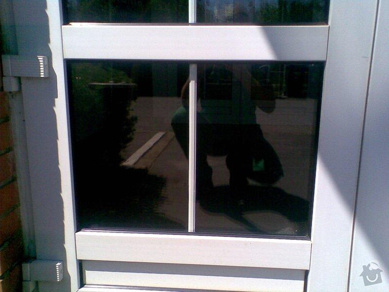 Opravu skleněných výplní: okno1